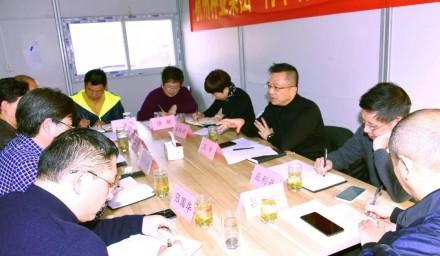 王希赴杭州种业集团开展调研服务