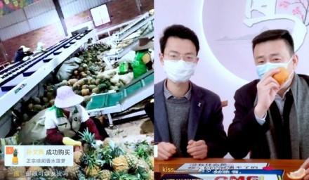 """拼多多""""农货产销对接活动""""上线:市长县长齐直播,一天售出百万斤农货"""
