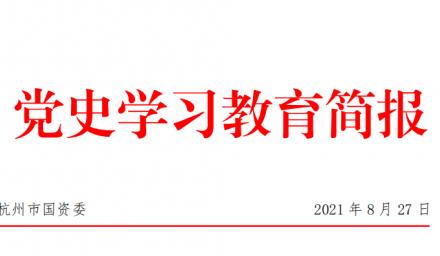 """党史学习教育进行时   市国资委专题报道集团公司""""破难题""""典型做法"""